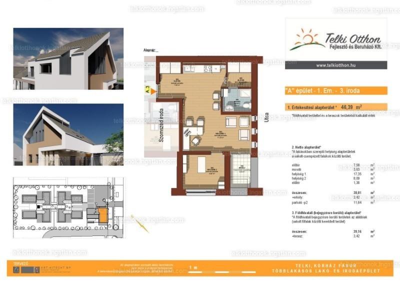 Telki otthonok - 1 + 1 szoba