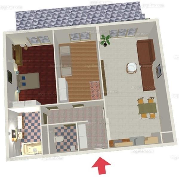 Semiramis Garden - 2 + 1 szoba erkéllyel
