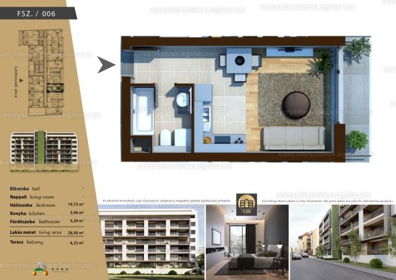 Sunny Side Residence - 1 szoba erkéllyel