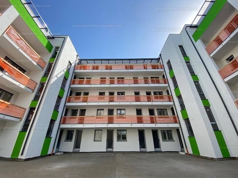 Arsenal Sarokház - 4 szoba erkéllyel
