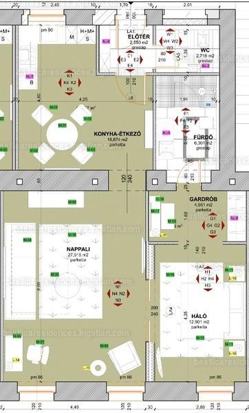 Basilica Residences - 3 szoba