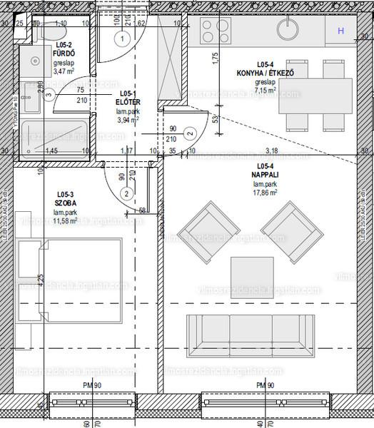 Vilmos Rezidencia - 2 szoba