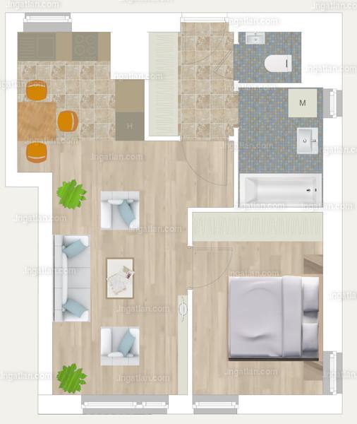 Pápay Park - 2 szoba