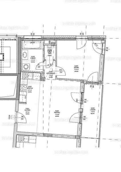 Ecoház - 2 szoba erkéllyel