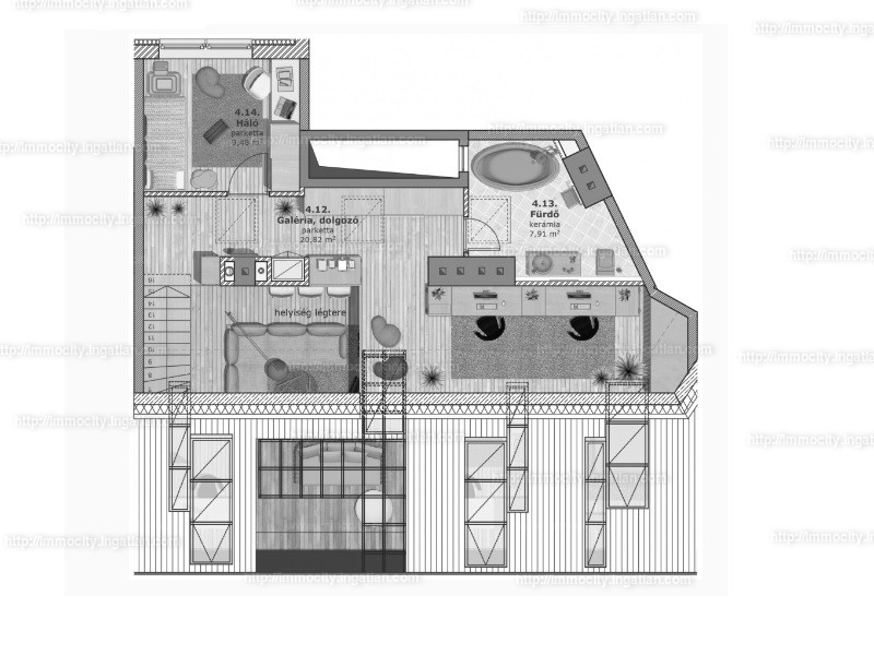 Ingatlan, eladó lakás, 12. kerület, Krisztinaváros – Városmajor, 135 m2