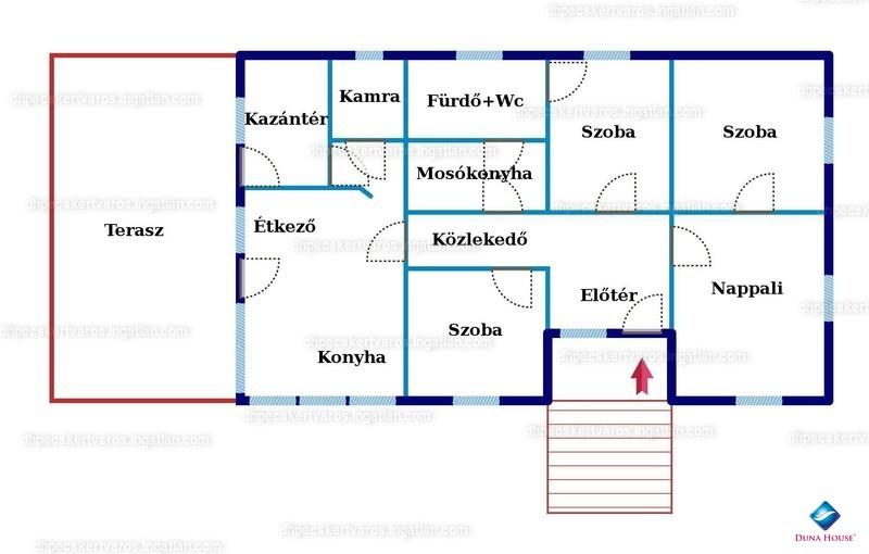 Ingatlan, eladó ház, Mozsgó, Alsóhegy, 125 m2