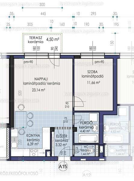 LIVE lakópark - 2 szoba kertkapcsolattal