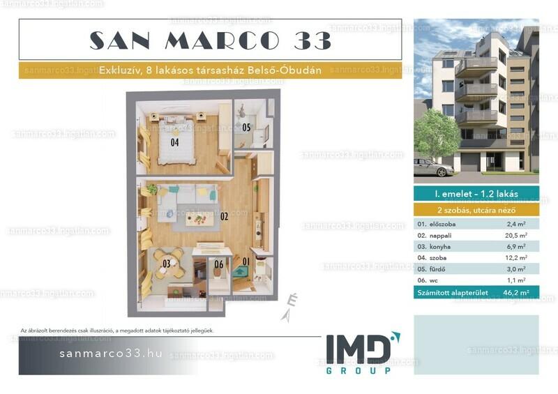 SAN MARCO 33 - 2 szoba