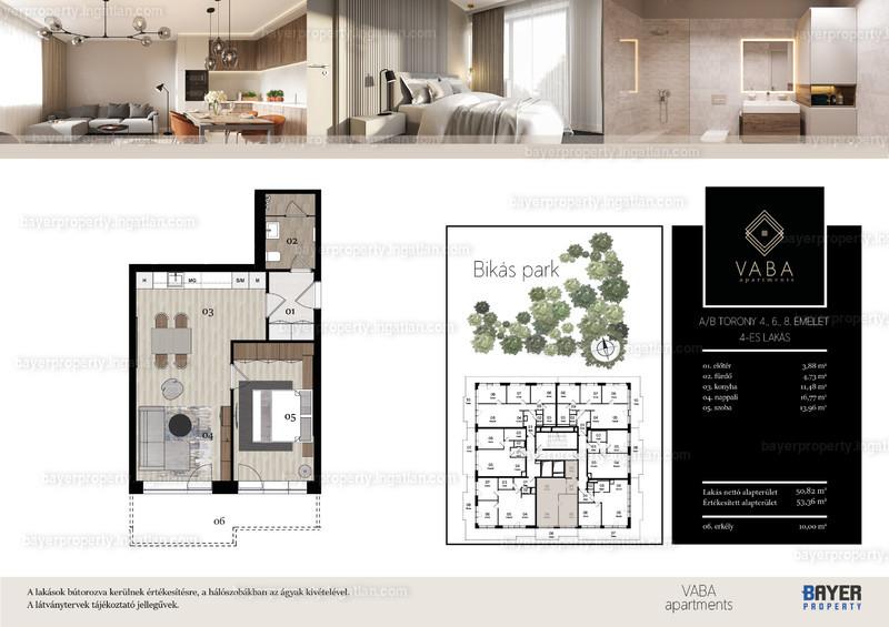 VABA Apartments - 2 szoba erkéllyel