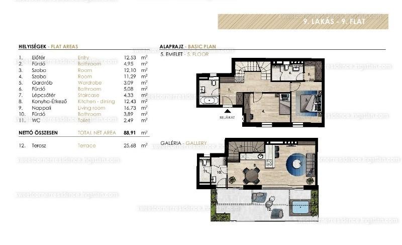 Sweet Corner Residence - 3 szoba erkéllyel