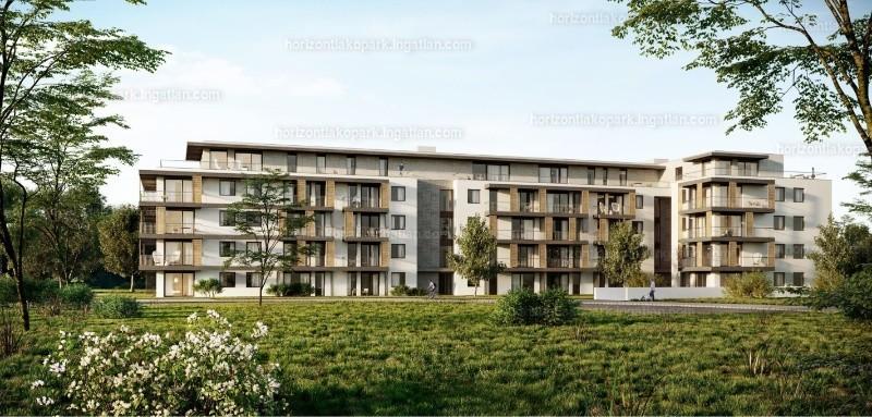 Horizont Lakópark - 5 szoba erkéllyel