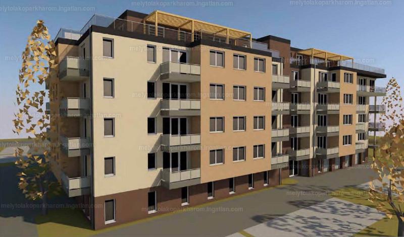 Mélytó Lakópark 3 - 2 szoba erkéllyel