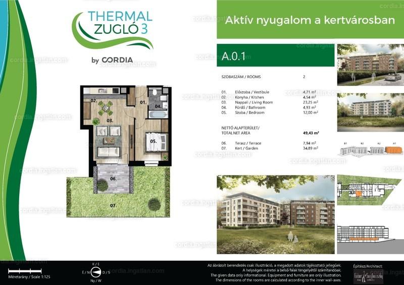 Thermal Zugló 3 by Cordia - 2 szoba erkéllyel