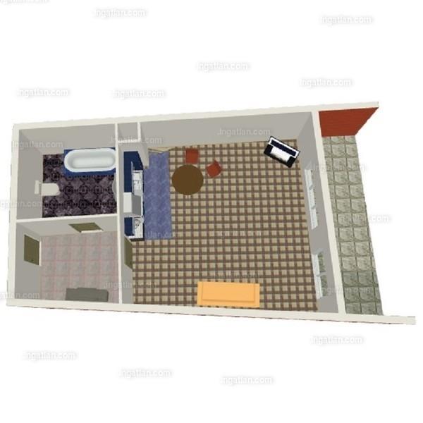 Semiramis Garden - 1 szoba erkéllyel