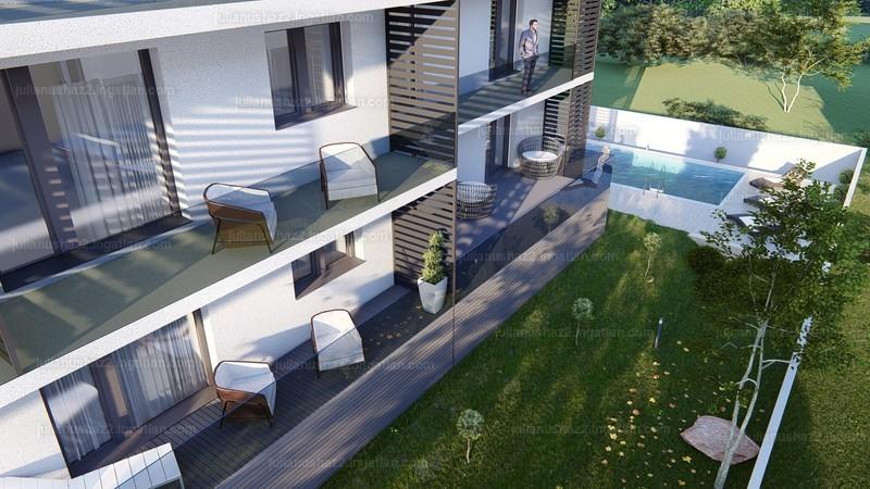 Julianus ház 2 - 2 szoba erkéllyel