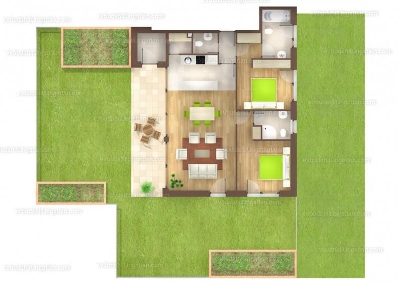 E&V Budahill - 3 szoba kertkapcsolattal