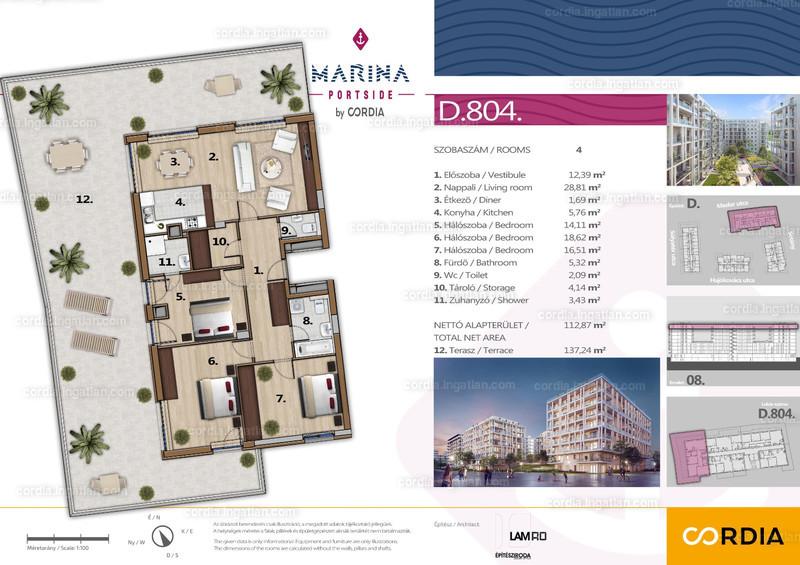 Marina Portside by Cordia - 4 szoba erkéllyel