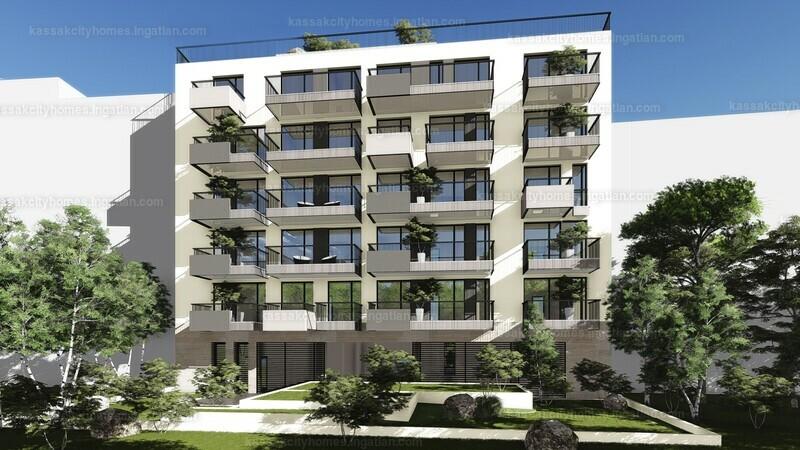 Kassák City Homes - 3 szoba erkéllyel