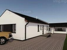 Új építésű családi ház Győrtől egy karnyújtásnyira