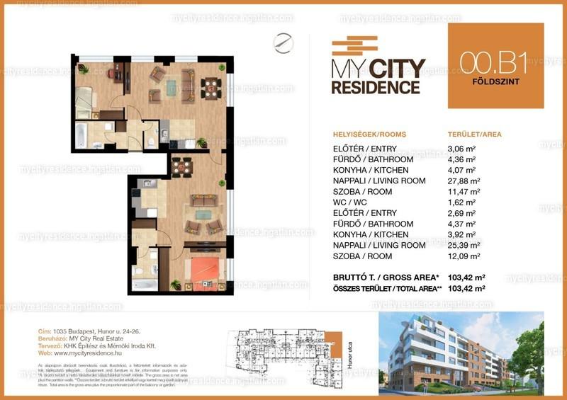 MyCity Residence - 4 szoba