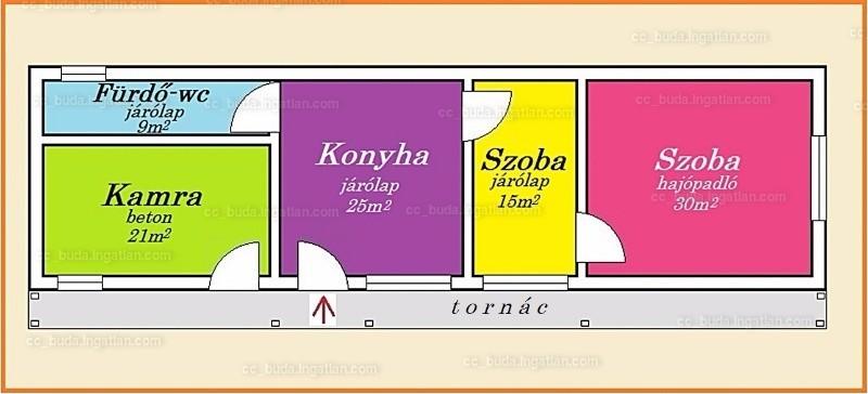 Ingatlan, eladó ház, Dunaegyháza, Bács-Kiskun , 79 m2