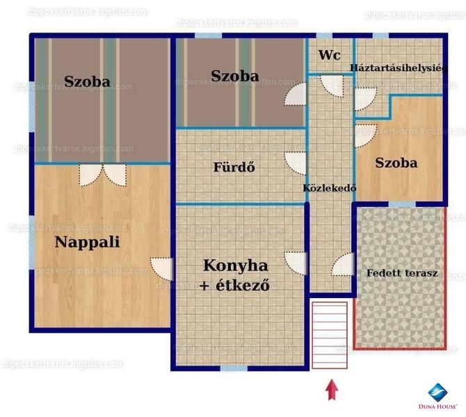 Ingatlan, eladó ház, Kozármisleny, Pécsi utca, 110 m2