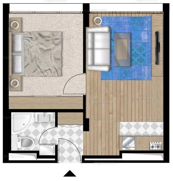 UniparkBuda - 2 szoba