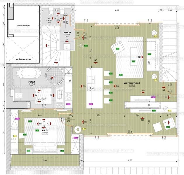Basilica Residences - 2 szoba erkéllyel