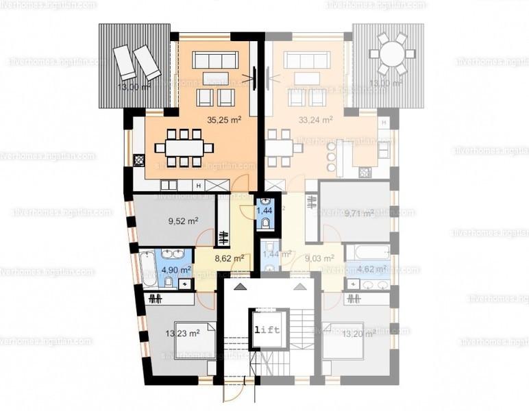 Silver Homes - 3 szoba kertkapcsolattal