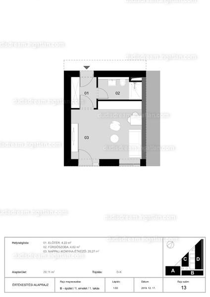 1 szoba