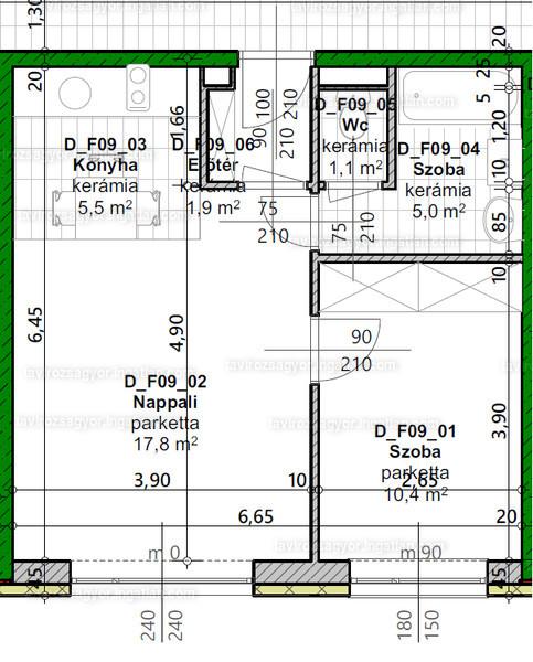 Tavirózsa Lakópark V. ütem - 2 szoba kertkapcsolattal