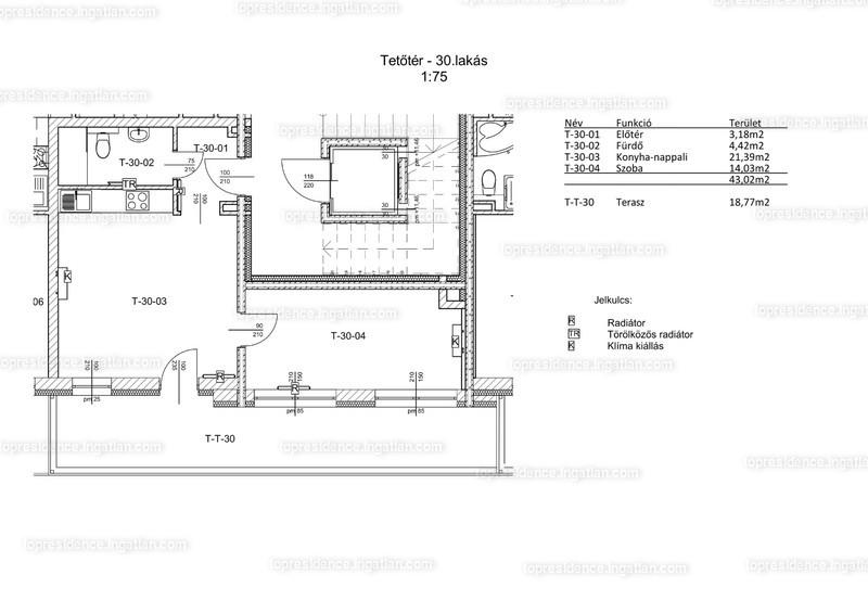 Top Residence Lakópark Veszprém - 2 szoba erkéllyel