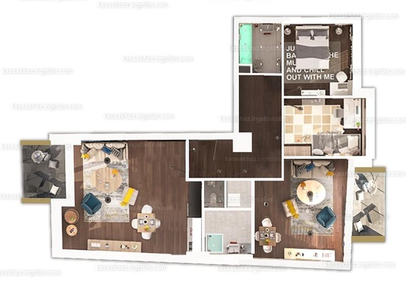 Kassák Ház - 4 szoba erkéllyel