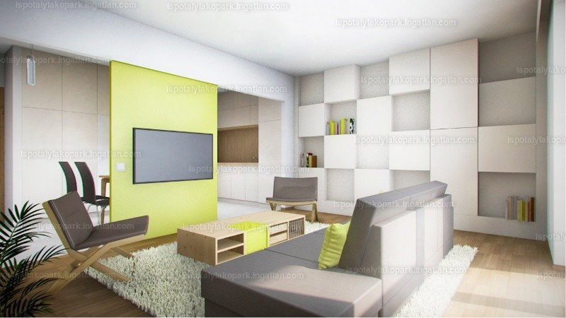 Ispotály Lakópark - 4 szoba erkéllyel