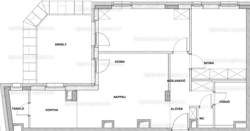 Rigó III lakópark - 3 szoba erkéllyel