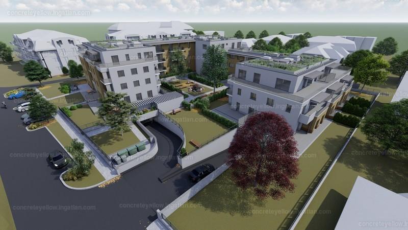 Madárdomb Residence - 4 szoba erkéllyel