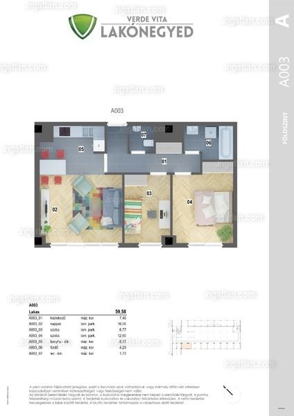 Verde Vita Vác - 3 szoba