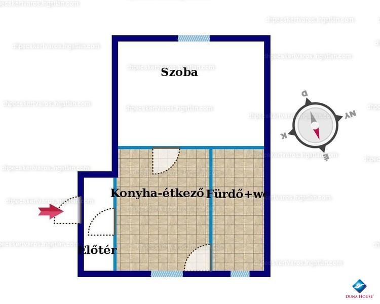 Ingatlan, eladó ház, Aranyosgadány, Kossuth utca