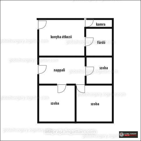 Ingatlan, eladó ház, Kacsóta, Baranya , 115 m2