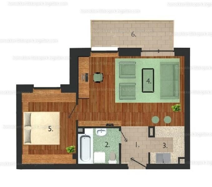 Homokkerti Lakópark - 2 szoba erkéllyel