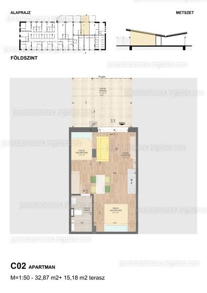 Juventus Homes - 1 szoba erkéllyel