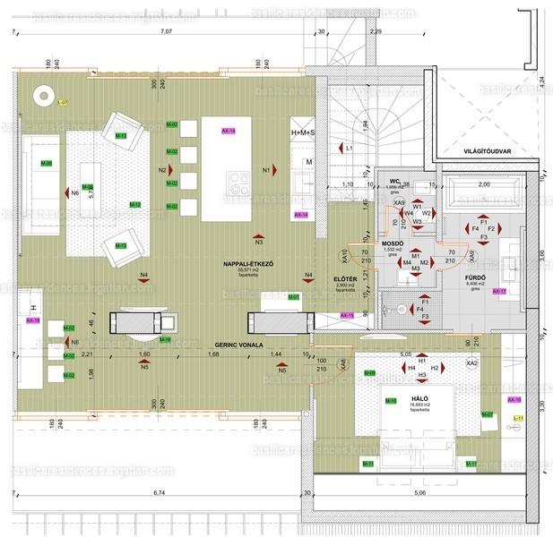 Basilica Residences - 3 szoba erkéllyel