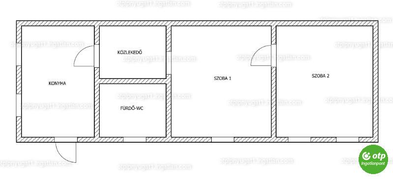 Ingatlan, eladó ház, Cserdi, Baranya , 59 m2