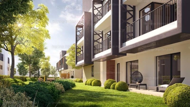 Fagyöngy Lakópark - 4 szoba erkéllyel
