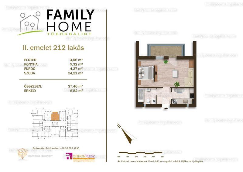 Family Home Törökbálint - 1 szoba erkéllyel