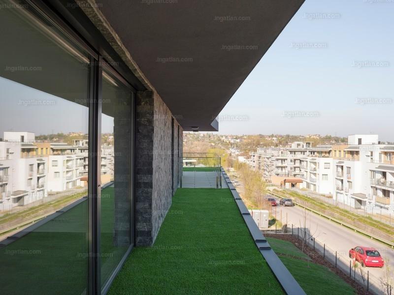 Harsánylejtő Lakópark - 3 szoba erkéllyel