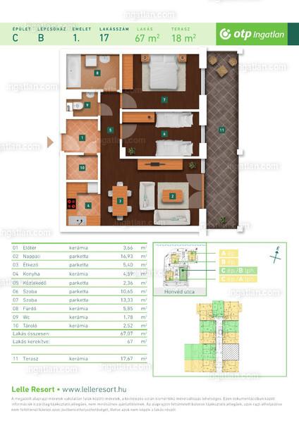Lelle Resort - 3 szoba erkéllyel