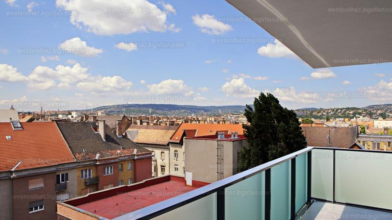Westend-ház - 3 szoba erkéllyel