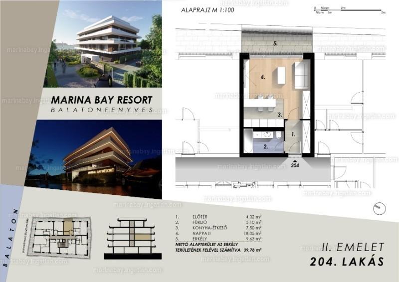 Marina Bay Resort - 1 szoba erkéllyel