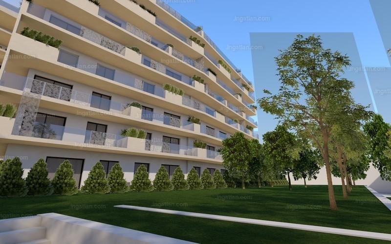 Semiramis Garden - 1 + 1 szoba erkéllyel